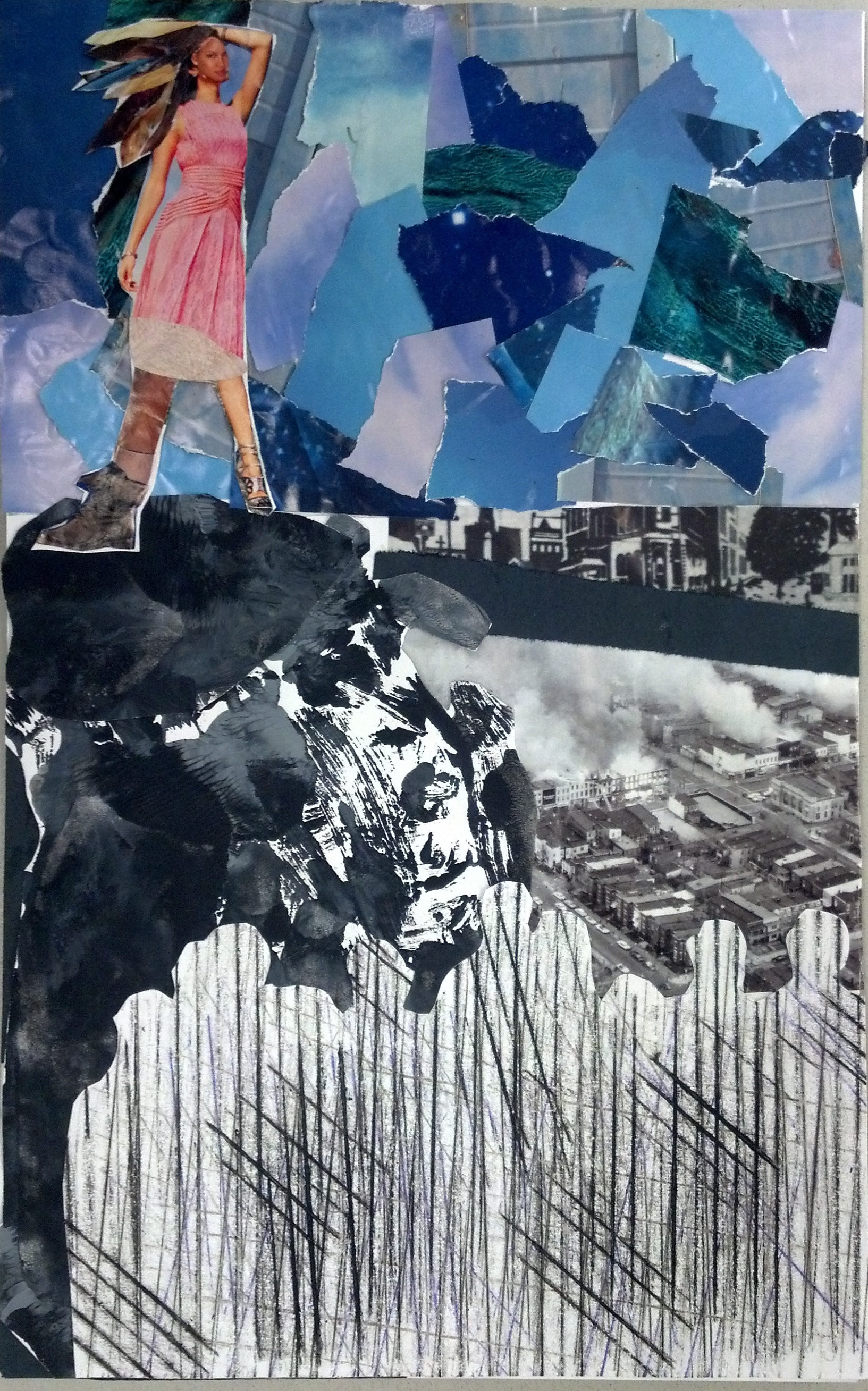 collage and social commentary  u2013 art with korb