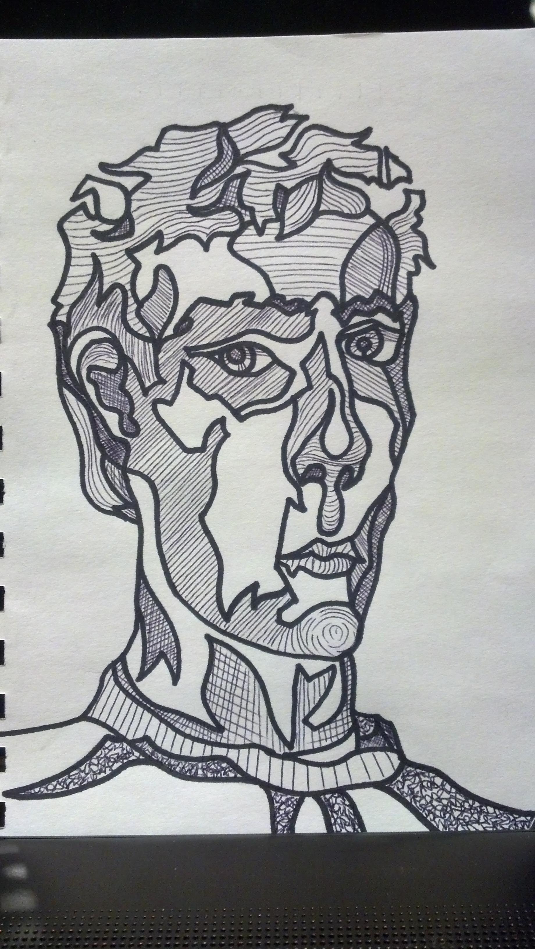 Blind Contour Line Drawing Definition Contour Line Portrait Drawing