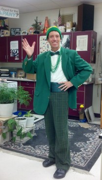 Welcome to GREEN DAY (Color day that is...)