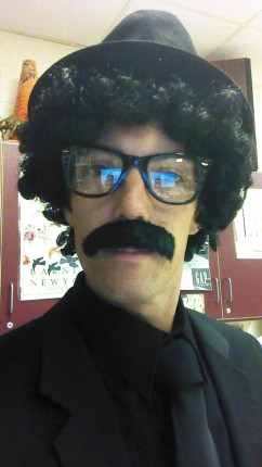 Who is that in Mr. Korb's room today?