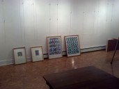 Space getting ready for display at Studio 107.