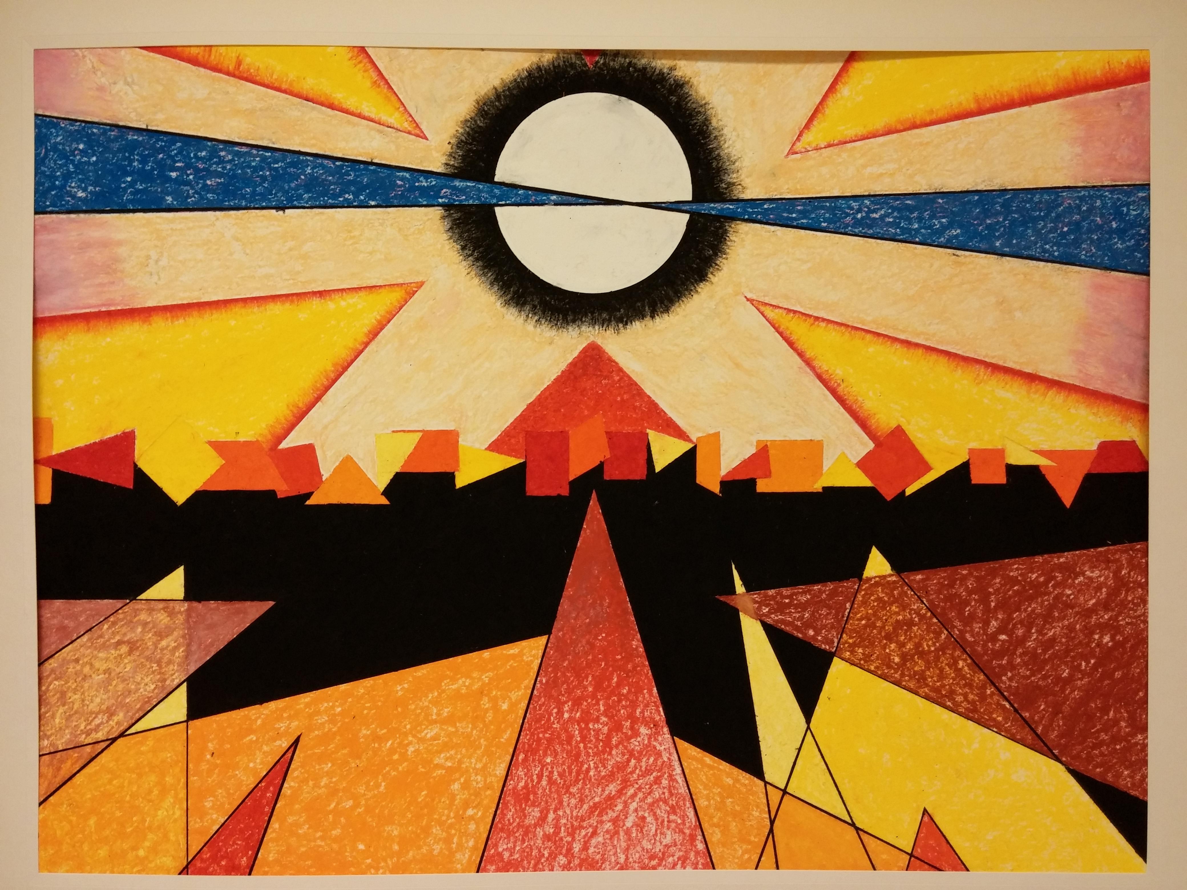 Bauhaus Wall Painting
