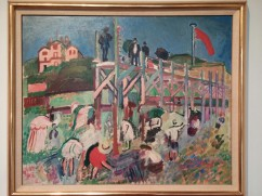 MAM Raoul Dufy Boardwalk of the Casino Marie-Christine at Sainte-Andresse