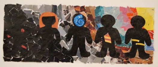 Bullying Collage - Collaborative Work, 2014