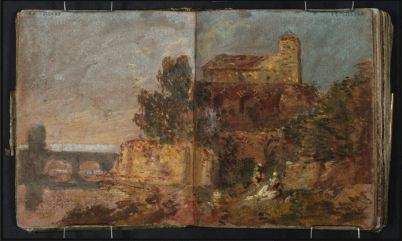 JMW Turner Sketchbook - Tate Gallery - London. http://www.tate.org.uk/art/research-publications/jmw-turner