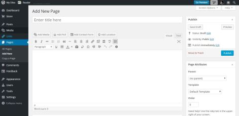 WordPress AP Pages Add