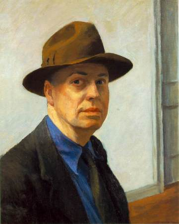 hopper-self-portrait