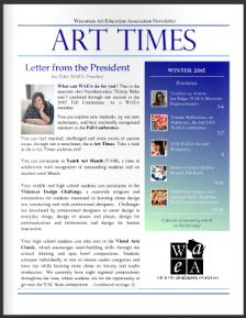 WAEA Art e-times