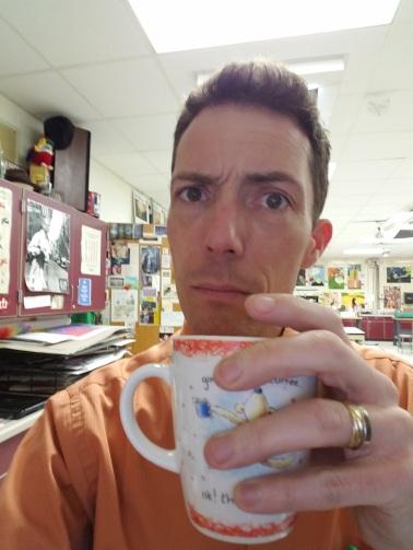 Mr. Korb's Selfie!