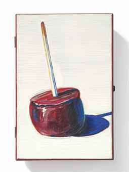 wayne_thiebaud_candy_apple_cigar_box_d5624694h