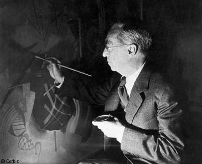Expressionist Wassily Kandinsky Painting