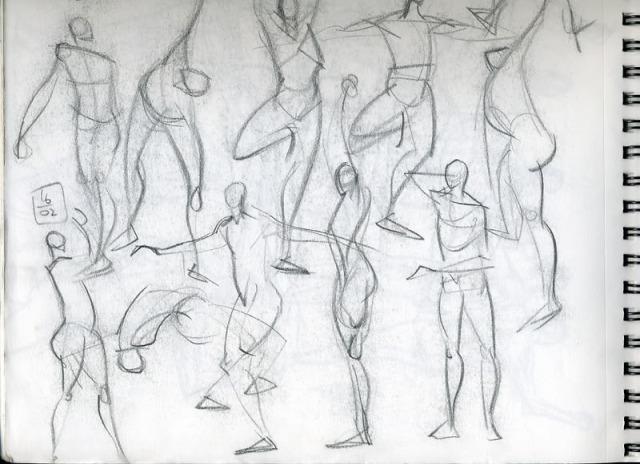 gesture-drawings