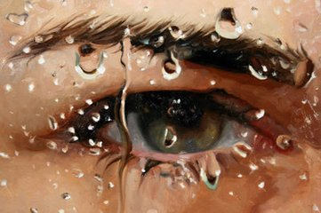 hot-print-oil-painting-40-30-the-eye-with-drop-of-water-wall-art-home-decoragift