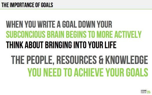important-write-down-your-goals