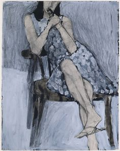 Richard Diebenkorn : Seated Woman: https://s-media-cache-ak0.pinimg.com/236x/82/c3/b8/82c3b86979c9e4a7889907a12c741de8.jpg