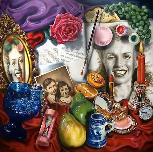 "Audrey Flack ""Marilyn"" http://s3-us-west-2.amazonaws.com/uama/wp-content/uploads/2012/12/30034738/flack_marilyn.jpg"