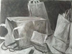 Paper Bags Still Life http://www.micahsparker.com/images/mannequin.jpg