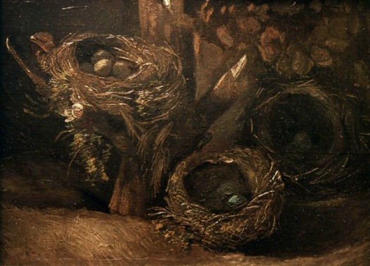 Ah the birds nest of Vincent Van Gogh: http://66.media.tumblr.com/980f8013c2c35c3e845bade1721c5f82/tumblr_nj8rr2Oxuz1slb5k6o2_1280.jpg