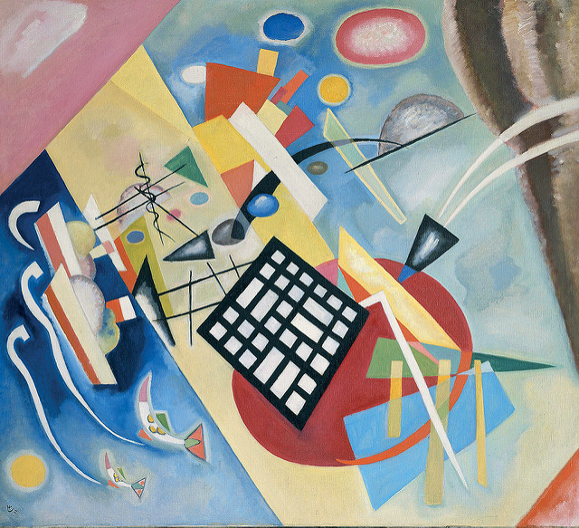 Wassily Kandinsky at the Milwaukee Art Museum Exhibition - not part of their permanent collection.  https://farm6.static.flickr.com/5287/13570248174_0cb6714488_z.jpg