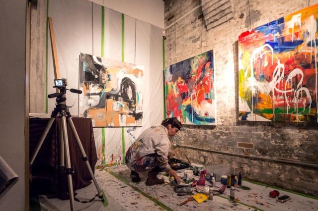 Do your works show GROWTH? http://www.vachonstudio.com/wp-content/uploads/Artist-working-in-the-studio.jpg