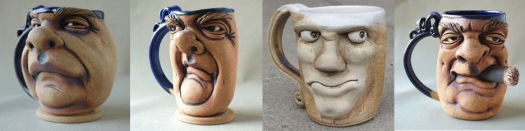 Mugs and Faces - GO and Build: http://blog.shoplet.com/wp-content/uploads/2015/09/Faces-on-Ceramic-Mugs.jpg