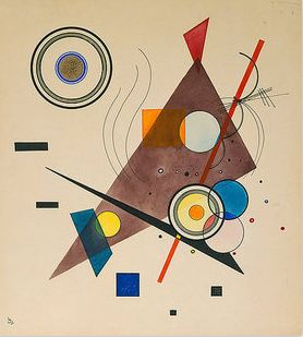 Wassily Kandinsky and the Bauhaus: http://www.wassilykandinsky.net/images/works/544.jpg