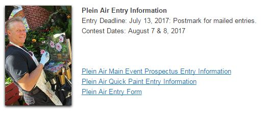 WI State Fair - Plein Air at the Fair. Entry Forms are HERE: https://goo.gl/i0KjNx
