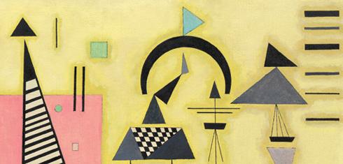 Kandinsky and POST Bauhaus: http://media.guggenheim.org/content/New_York/exhibitions/2011/decisiverose_490x235.jpg