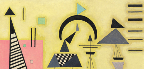 Kandinsky and POST Bauhaus: http://media.guggenheim.org/content/New_York/exhibitions/2011/decisiverose_490x235.jpg