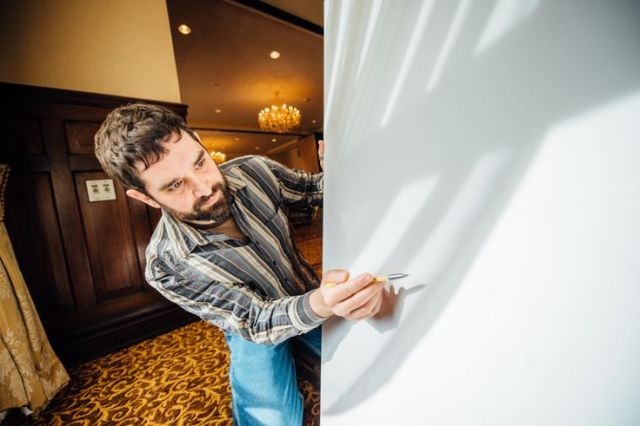 Todd Mrozinski and his tracings a the Pfister: https://s-media-cache-ak0.pinimg.com/736x/e2/a9/f9/e2a9f95faa72ac84d6a3df32c0dded44.jpg