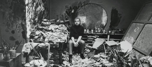 Francis Bacon's Art Studio - HE needed OUR help in cleaning it. https://static1.squarespace.com/static/550c9d68e4b0567de63aa557/550de75de4b0bc81227c05ee/555d22c9e4b059c53a726d5c/1432170710007/Francis+Bacon.jpg?format=1000w