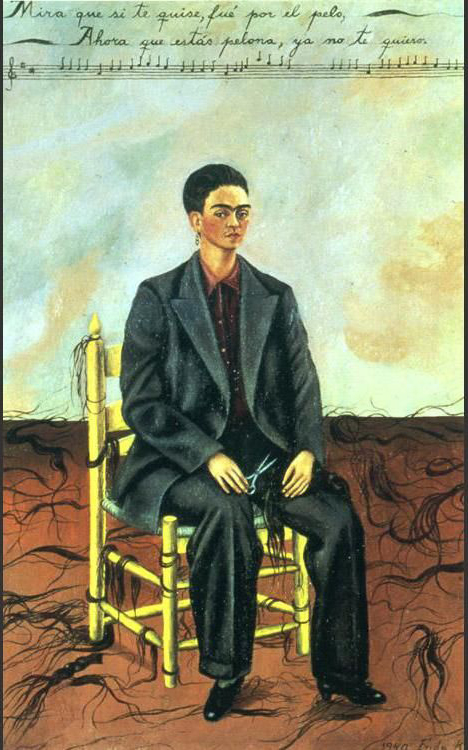 frida-kahlo-self-portrait-with-cropped-hair