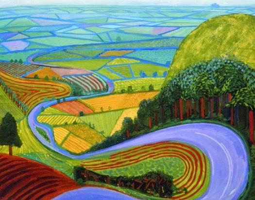 David Hockney and LANDSCAPE! http://2.bp.blogspot.com/-gfzaBwYRwf8/VJl_dKYmIUI/AAAAAAAASi0/xG5Ryp0gnqk/s1600/h2-1024x802.jpg