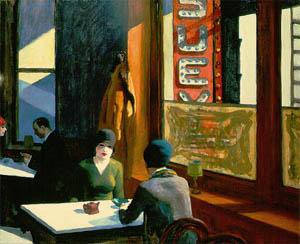 Edward Hopper Chop Suey: Fair use, https://en.wikipedia.org/w/index.php?curid=9254357