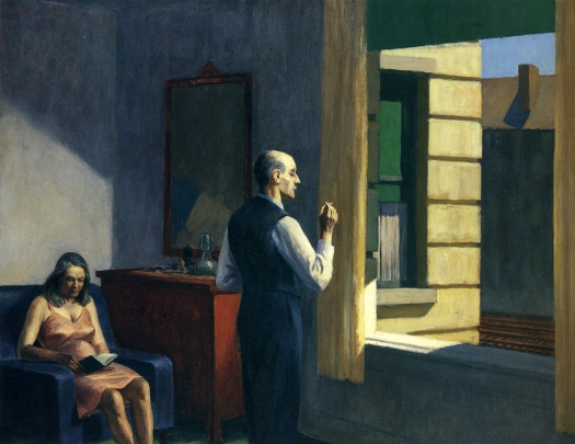 "Edward Hopper ""Hotel by a Railroad"" http://uploads3.wikipaintings.org/images/edward-hopper/hotel-by-a-railroad.jpg"