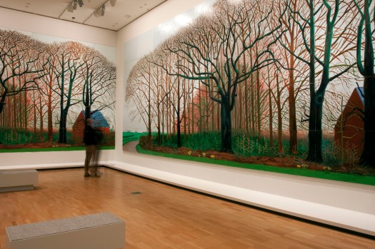 David Hockney - A Bigger Picture: https://artblart.files.wordpress.com/2017/03/mbunyan-hockney-h-web.jpg