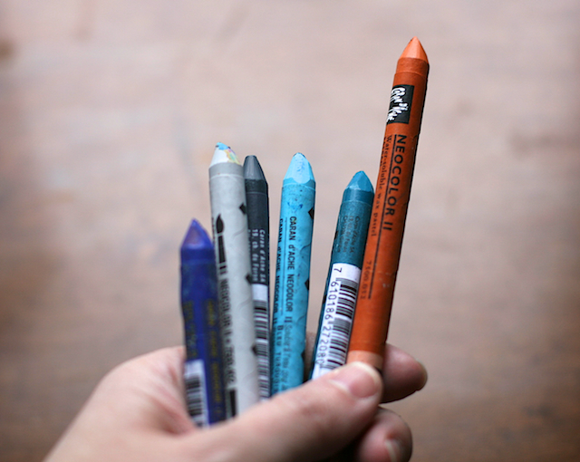 Caran Dache Crayons - Let's Think about them as we go outside and draw for ideas. http://3.bp.blogspot.com/-e67QAc_ss0U/T0LWh-yeL-I/AAAAAAAAECs/hWdgpgdQjj0/s1600/Neocolor+II+Aquarelle+Crayons.jpg