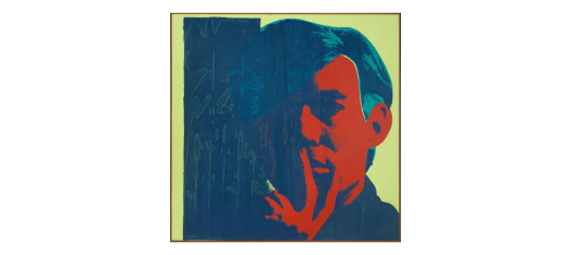 SFMoMA Andy Warhol 1967 Silkscreen: https://www.sfmoma.org/artwork/92.283