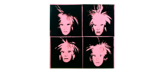 Warhol at SFMoMA 1986 Self Portrait https://www.sfmoma.org/artwork/97.892
