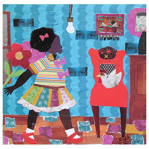 Della Wells and the ideas of COLLAGE. Let's learn a little about her. http://mainstreetgallery.net/wp-content/uploads/headway/gallery/Wells_61308_PeggyAndLittleT_12x12_300.jpg