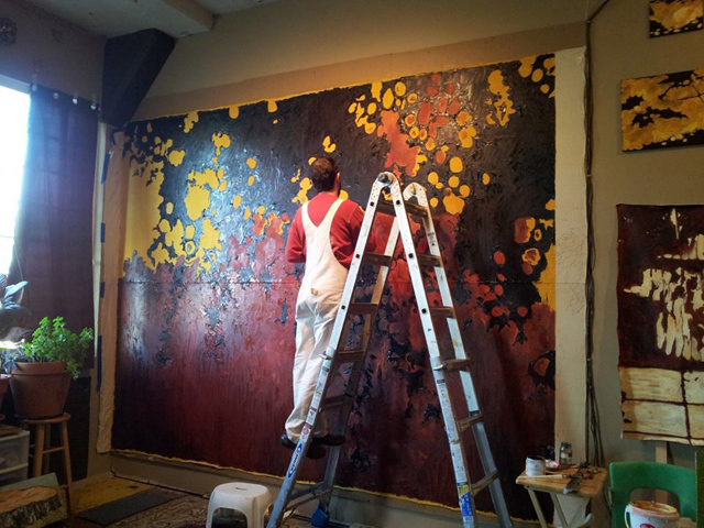 Large Scale Work - Todd Mrozinski SHADOWS! https://365artists365days.files.wordpress.com/2014/09/working-in-studio-on-tree-shadow.jpg?w=640&h=480