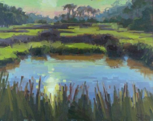 What are you using as a material? Acrylics? Pastels? Charcoal? Watercolor? http://www.pleinairfl.com/image/art/1864.jpg