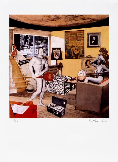 Just what was it that made yesterday's homes so different, so appealing? (upgrade) 2004 by Richard Hamilton 1922-2011