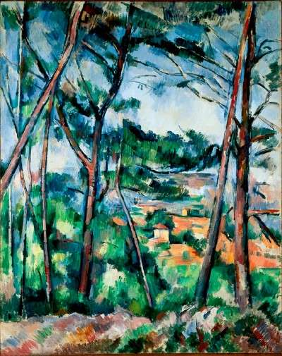 Paul Cezanne: Post-Impressionism: http://static.ddmcdn.com/gif/paintings-by-paul-cezanne-5.jpg
