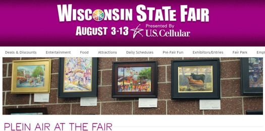 Plein Air at the Fair - Wisconsin State Fair. http://wistatefair.com/fair/plein-air-at-the-fair/