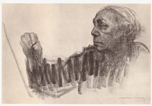 kollwitz2bself-portrait2bat2bwork