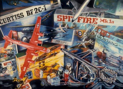 flack_spitfire_1973_acryliconcanvas