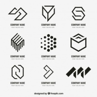 Logos and simple use of LINE. https://n6-img-fp.akamaized.net/free-vector/geometric-logo-collection_23-2147665836.jpg?size=338&ext=jpg