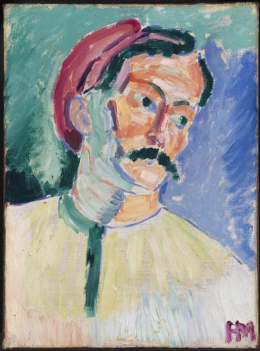 Andr? Derain 1905 by Henri Matisse 1869-1954