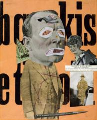 Modernism - Text included - This is a collage: http://www.tate.org.uk/art/images/work/T/T01/T01918_9.jpg